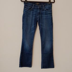 Lucky Brand Cate Boot Jeans with Flaps Size 2/26